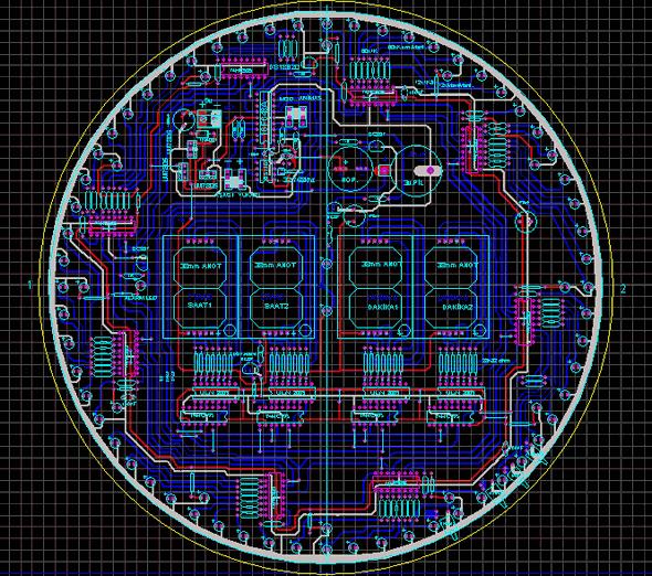 LED ANIMATED CLOCK CIRCUIT(1)