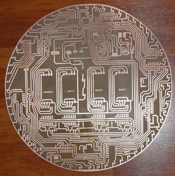 LED ANIMATED CLOCK CIRCUIT(4)
