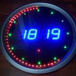 LED ANIMATED CLOCK CIRCUIT(5)