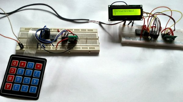 PIC to PIC Communication using RF Module with Pic-microcontroller