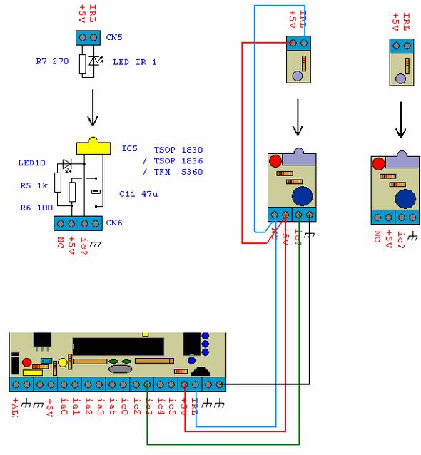 PIC16F87X ELECTRONIC PLC CIRCUIT