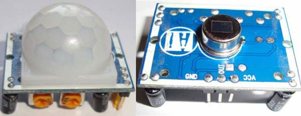 PIR Sensor using Pic-microcontroller