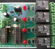 CM8870 REMOTE DEVICE CONTROL VIA TELEPHONE DTMF PIC16F628