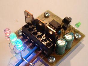 RGB LED DRIVER CIRCUIT PIC12F629 PWM