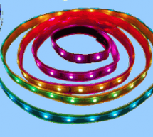 PIC16F84 RGB LED STRIP ANIMATION CIRCUIT