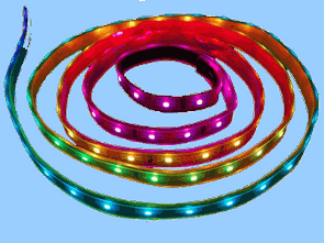 RGB LED STRIP ANIMATION CIRCUIT