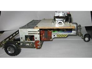 SIMPLE AUTO ROBOT PIC16F628 H-BRIDGE MOTOR DRIVER CIRCUIT 1