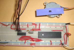 STEPPER MOTOR INTERFACING WITH 8051 MICROCONTROLLER