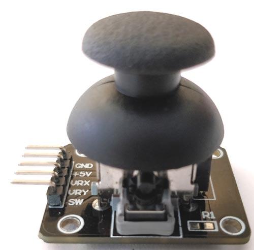 Understanding the Joystick Module using Pic-microcontroller