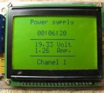 VOLT AMP METER CIRCUIT PIC16F877