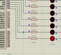 WALKING LED LIGHT CCS EXAMPLE PIC16F877