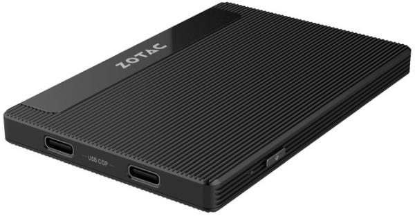 ZOTAC ZBOX PICO PI225-GK IS A MINI PC ABOUT THE SIZE OF A