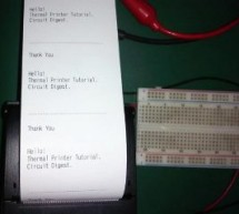 Thermal Printer interfacing with PIC16F877A