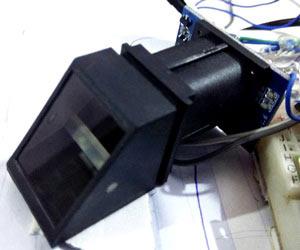 finger-print-sensor-module using pic-microcontroller