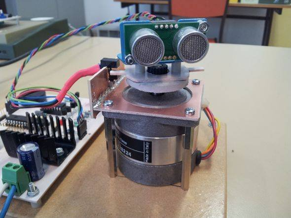 ULTRASONIC SONAR RADAR ROBOT