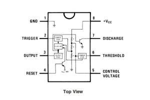 555 Timer Pin Diagram