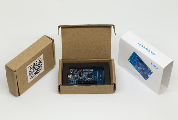 BLUEY, BLE DEVELOPMENT BOARD SUPPORTS NFC 2