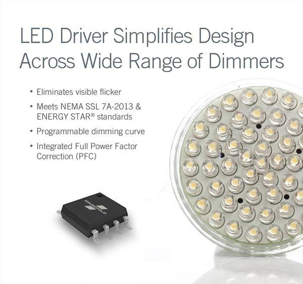 Fairchild Simplifies Dimmable LED Lighting Design
