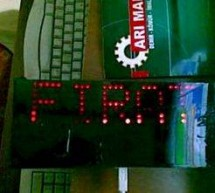 PIC18F4550 USB MARQUEE DISPLAY SCROLLING TEXT CIRCUIT LED VISUALBASIC