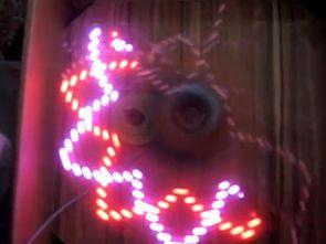 RGB LED AIR WRITING VISUAL