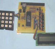 SECURITY ALARM CIRCUIT WITH PIC16F877 LCD