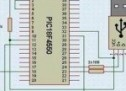 PIC18F4550 PIC18F2550 USB PROJECT VISUALBASIC CIRCUIT