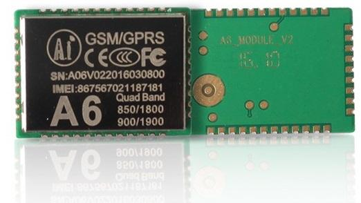 $3.6 GPRS GSM MODULE FROM AI THINKER