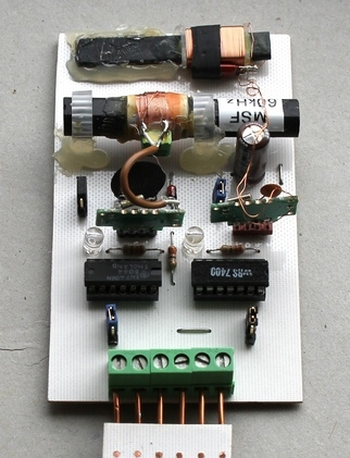 A combined MSF/DCF atomic clock receiver
