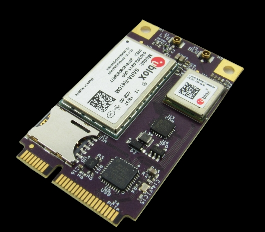 GW16126 MINI-PCIE MODEM AND BLUETOOTH RADIO