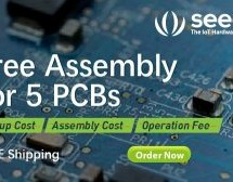 SEEED STUDIO FUSION PCBA SERVICE – FREE ASSEMBLY FOR 5 PCBS