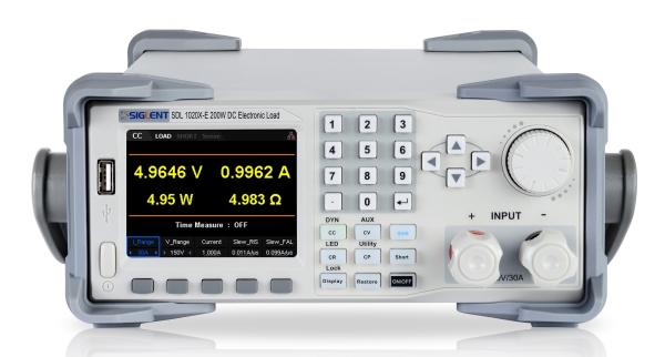 SIGLENT SDL1000X X-E SERIES PROGRAMMABLE DC LOADS OFFER ADVANCED PERFORMANCE OPTIONS