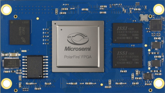 SYSTEM-ON-MODULE WITH POLARFIRE FPGA AT EMBEDDED WORLD