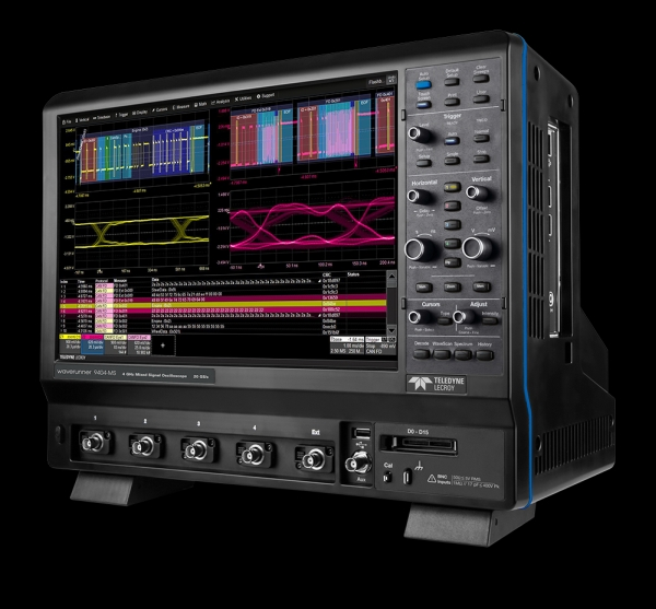 "TELEDYNE LECROY INTRODUCES WAVERUNNER 9000 OSCILLOSCOPES WITH 15.4"" DISPLAY"