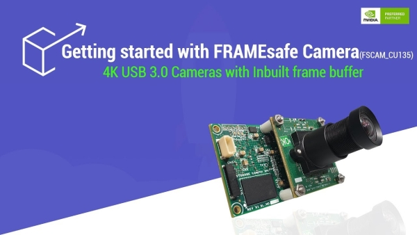 E-CON SYSTEMS LAUNCHES FSCAM_CU135 – THE LATEST 4K MULTI FRAME BUFFER USB CAMERA