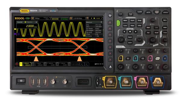 RIGOL MSO8000 2GHZ 4-CHANNEL DIGITAL OSCILLOSCOPE SERIES