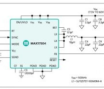 3.3V/3A, WIDE-INPUT, SYNCHRONOUS, STEP-DOWN DC-DC REFERENCE DESIGN