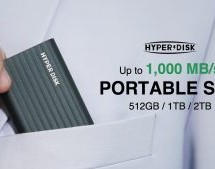 HYPERDISK: POCKET-SIZED & HIGH-SPEED PORTABLE SSD