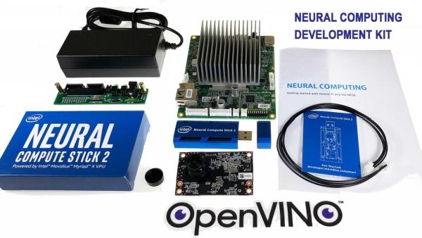 NEURAL COMPUTING KIT COMBINES ATOMIC PI SBC WITH INTEL'S NCS2