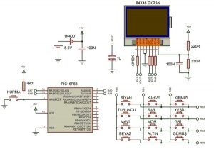 RESISTOR CODE CALCULATOR CIRCUIT SCHEMATIC