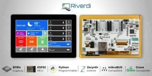 RIVERDI IOT DISPLAYS FOR NEXT LEVEL IOT PROJECTS