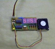 PIC16F627 RPM MEASUREMENT CPU FAN SPEED INDICATOR CIRCUIT