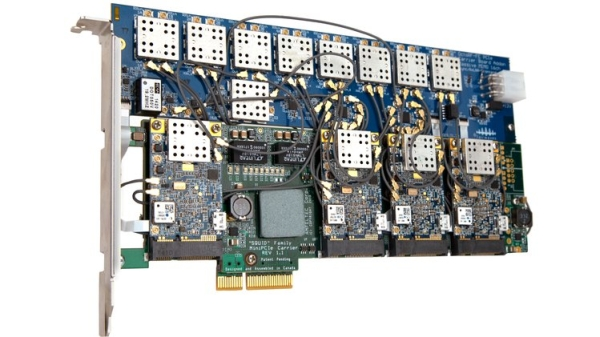 THE ULTIMATE LOW-COST MASSIVE MIMO SDR, WITH UP TO 32×32 TRANSMIT RECEIVE CHANNELS