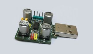USB POWERED AUDIO AMPLIFIER USING MAX4298