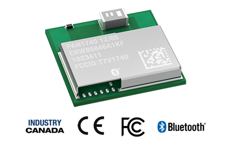 PANASONIC INDUSTRY EUROPE PRESENTS NEW BLUETOOTH 5.0 LOW ENERGY MODULE PAN1740A