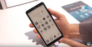 5.84″ INCH E-PAPER ANDROID SMARTPHONE PROMISES UP TO 10-DAY BATTERY LIFE