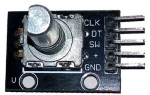 KY-040 Rotary Encoder Pinout and description