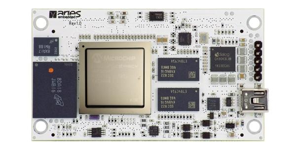 M100PFS – POLARFIRE RISC-V SOC-FPGA MODULE
