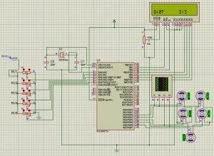 Simulation of PIC Robotic Arm Code