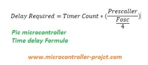 Specific delay formula for Pic Microcontroller's