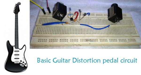 Build Your Own Guitar Distortion Pedal Circuit